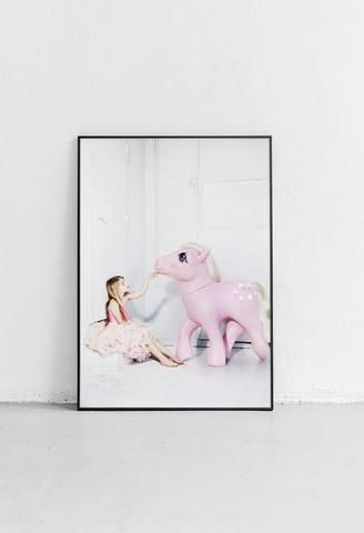 Dream bigger by jennyojens. My little pony art. perfect for the nursery or kidsroom.