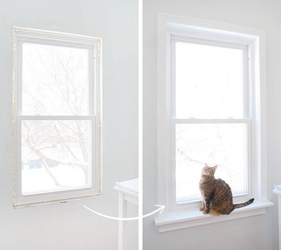 Installing Window Sills and Trim   Window   Pinterest ...