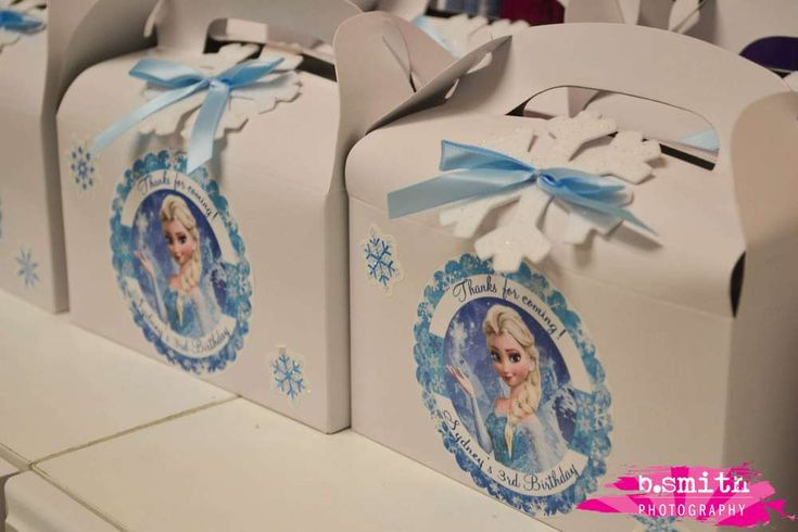 Frozen Birthday Party Ideas | Photo 1 of 17 | Catch My Party