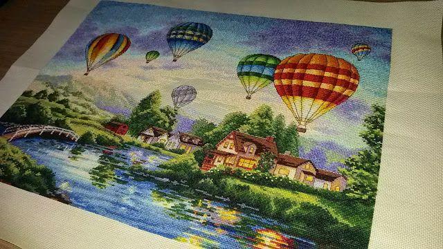 Dreamer: Вышивка - шары