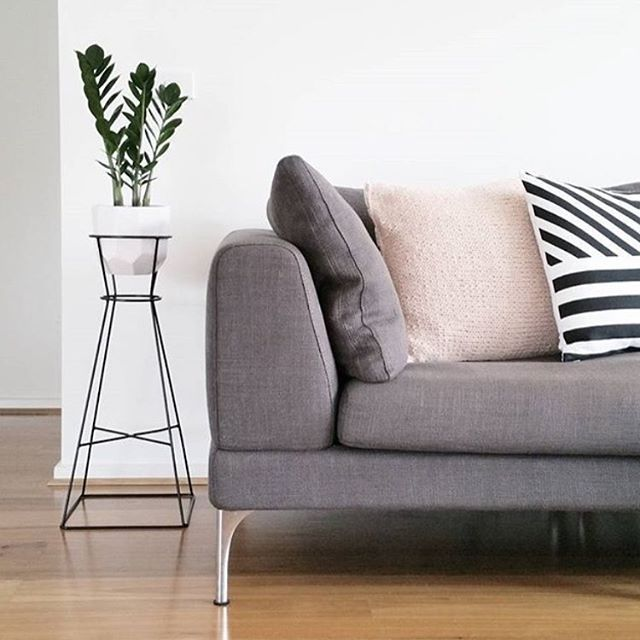 We're loving the contemporary and fresh styling by @montytribe featuring our Plaza sofa.