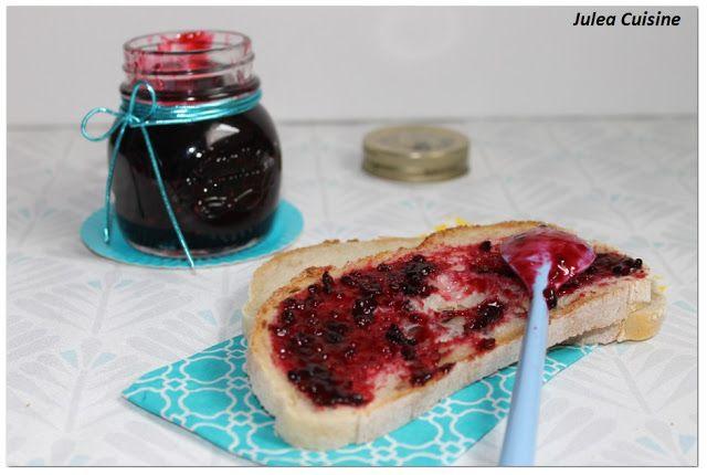 Julea Cuisine - Ma petite cuisine au quotidien: Confiture mûres sauvages et vanille