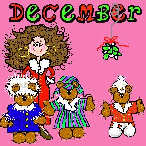 December Holidays 2013(Official) Monthly, Weekly, Daily, Unknown, Crazy, Bizarre, Holidays. - for school/craft binder
