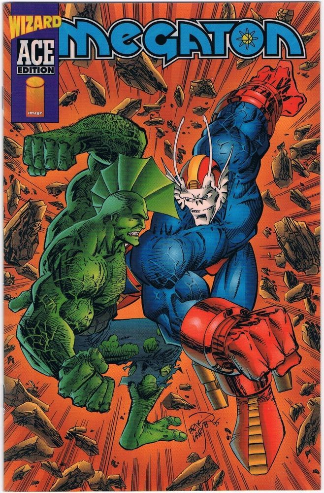 1996 Megaton 3 Wizard Ace Limited Collectors Edition Comic Book Savage Dragon