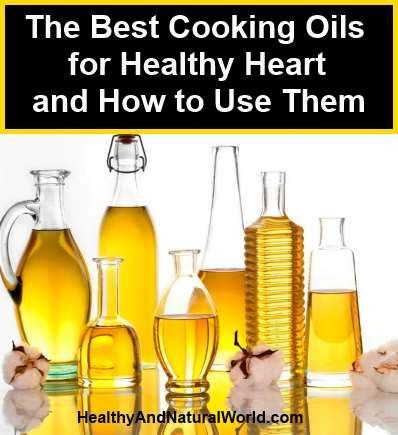 The Best Cooking Oils for Healthy Heart and How to Use Them. When it comes to improving your health, incorporating several oils into your diet could provide you with surprising results for healthy heart. People are sceptical when it comes to using these oils since they aren't fully educated on the benefits they have to offer. The following oils contain loads of nutrients that are key to a healthy diet and are incredibly easy to use in your