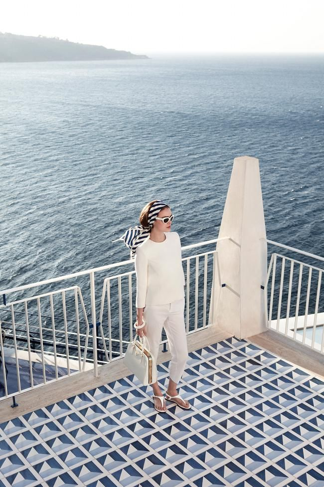 head to toe white for summer // nautical style inspiration