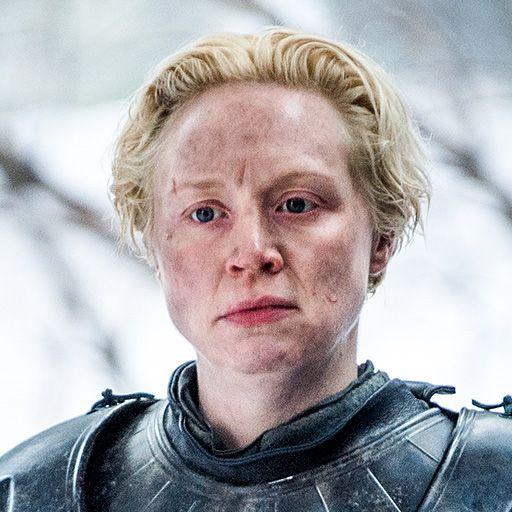 Brienne of Tarth played by Gwendoline Christie