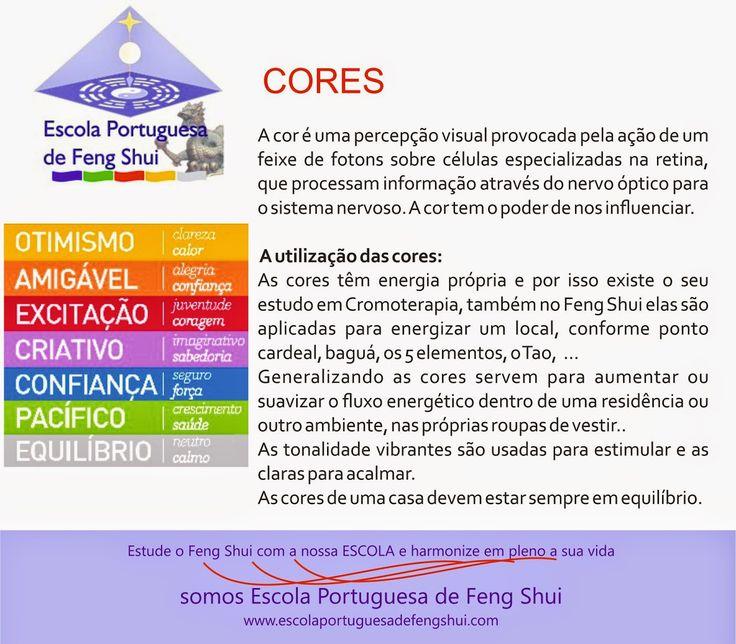 Escola Portuguesa de Feng Shui: CORES