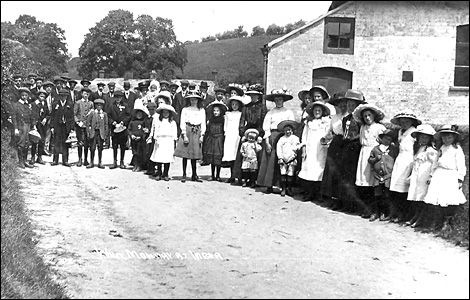 ...thanks to an amazing collection of photographs and material recently donated by Rex Sawyer and Rosalind Hooper. (Imber Whit Monday)