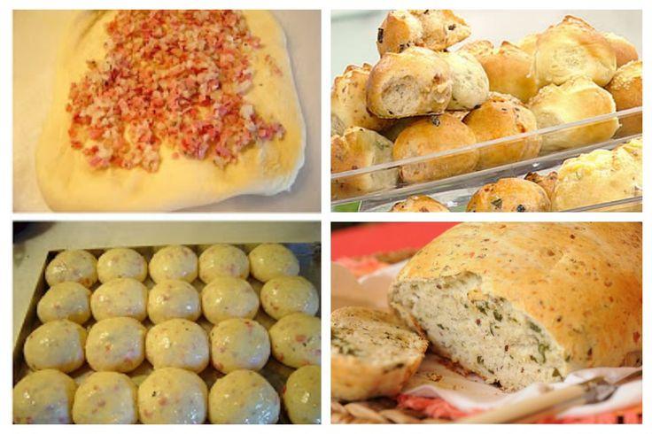 Pan casero saborizado de Cebolla, ajo, queso o hiervas; elije el ingrediente. Listos en 15 minutos! – En el Punto