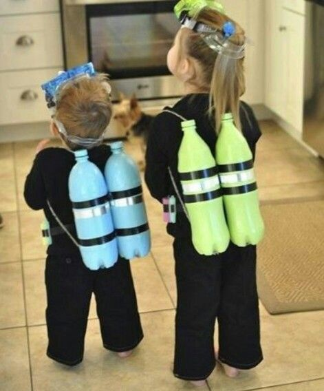 23 Parents Nailing The Homemade Baby Costume Thing Find This Pin And More On Beach Party Ideas