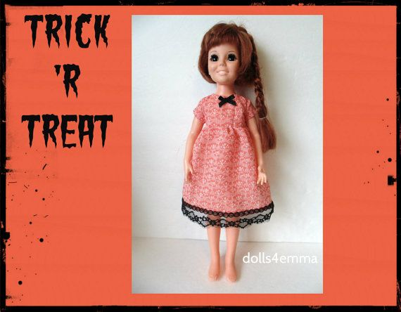 Vintage Ideal CRISSY Doll CLOTHES  Halloween by DOLLS4EMMA on Etsy