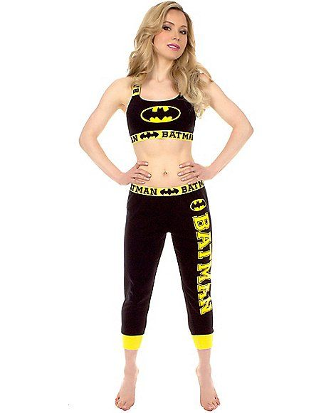 Batman Bandeau Jogging Suit - Spencer's