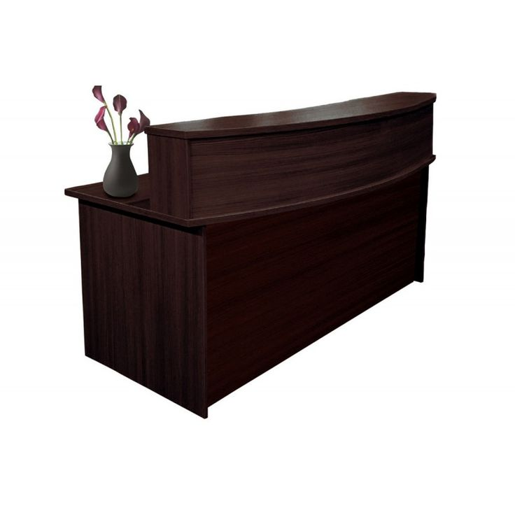 Reception office wenge 180x90x105 ΕΟ116,2