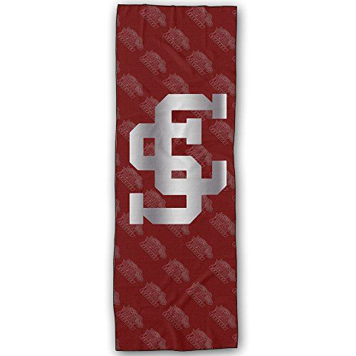 Santa Clara Broncos Platinum Logo Yoga Mat Towel *** To view further for this item, visit the image link.