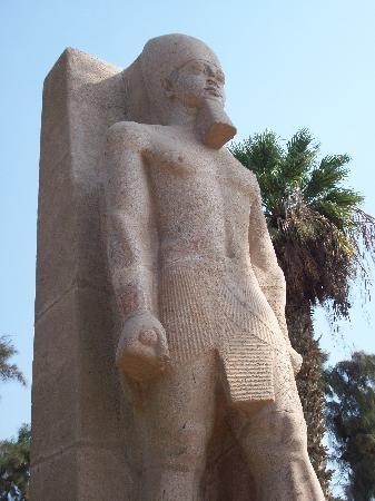 Ramese II outdoor statue, Memphis Egypt
