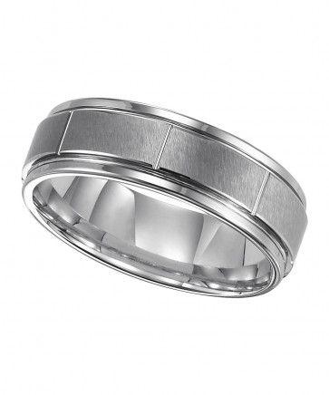Triton, Tungsten Carbide 7mm Comfort Fit Wedding Band