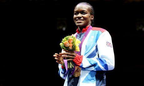 Leeds' Nicola Adams takes Gold in Women's Boxing - girl power!