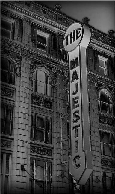 the majestic theatre, downtown dallas, texas.