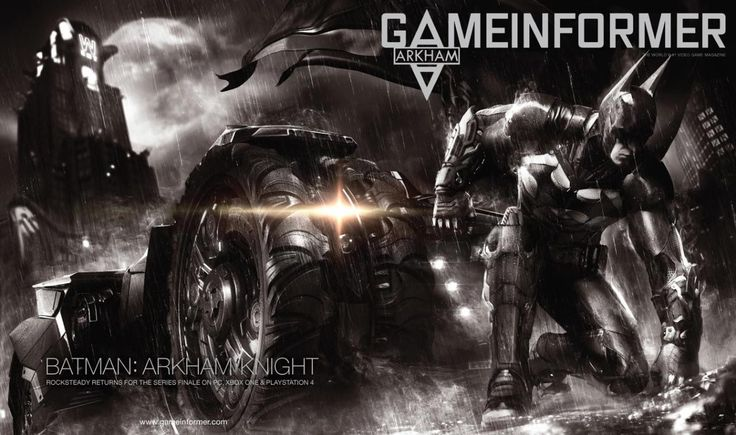 Batman: Arkham Knight video game info - via Gameinformer