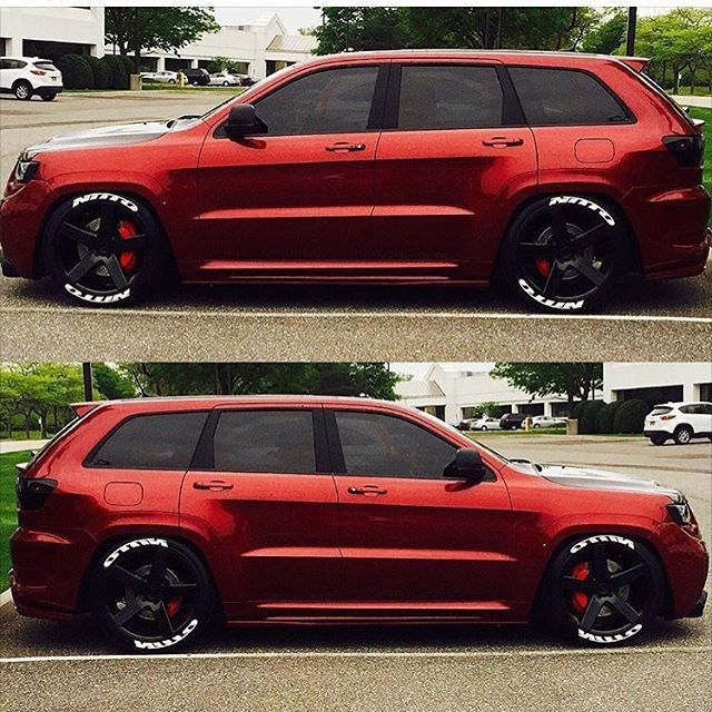 Bagged '12 Jeep SRT8! • Owner: @tnt6927 • •  : Unknown • #Supercharged #Jeep #SRT8 #itswhitenoise
