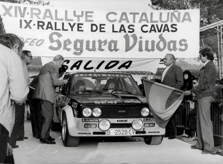 Antonio Zanini-Juan José Petisco. FIAT 131. Spanish Rally Championship 1979