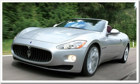 Maserati  Saw one like this in Germany, up close & personal. Awesome car!
