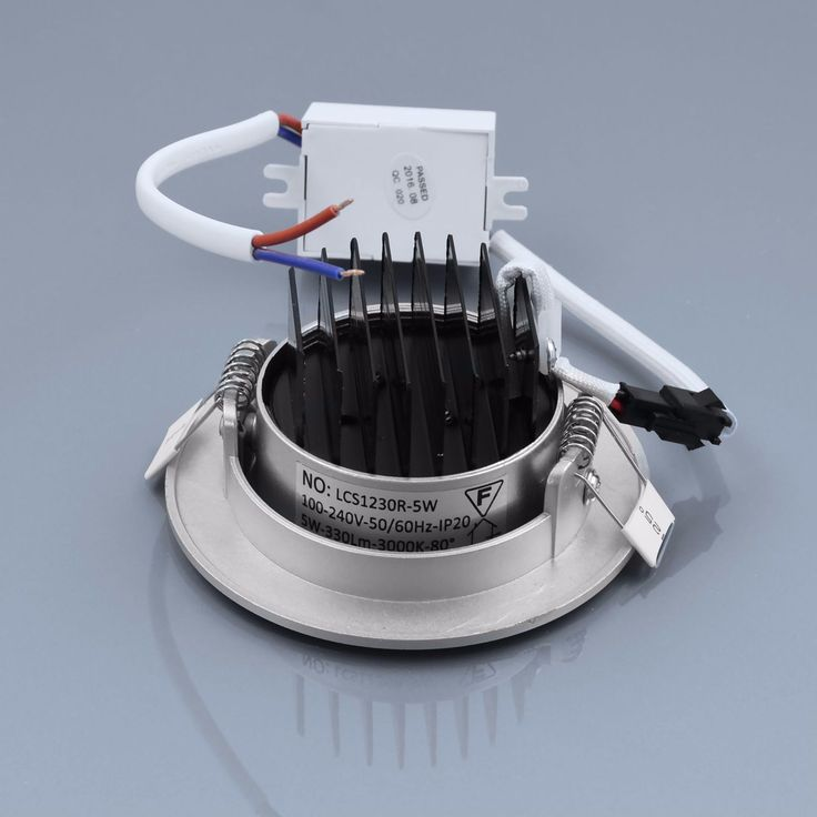 Fancy Details zu LED Einbaustrahler W warmwei rund Einbauspot Spot Einbau LED Deckenspot Rahmen