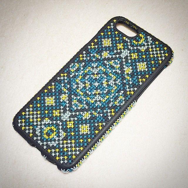 クロスステッチでiPhoneケースをあしらおう♪ | Handful
