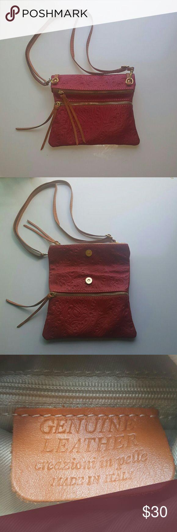 Italian Leather Handbag You can smell the leather!  Beautifully designed Italian handbag Bags