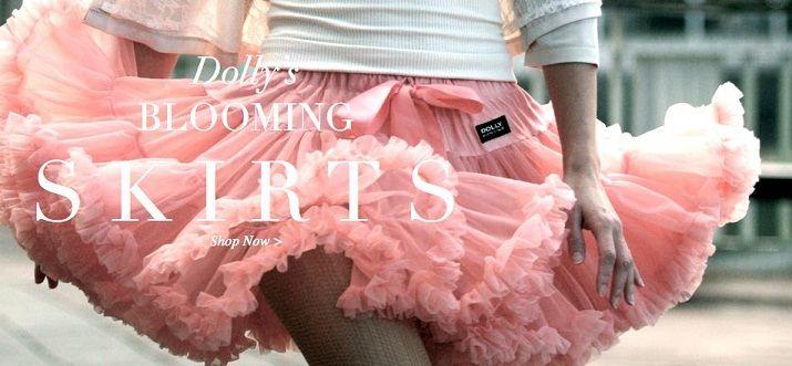 Petti skirts for women