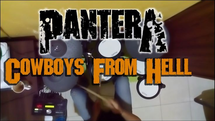 Bayu Christian - [Pantera - Cowboys From Hell Instrumental] Drum Cover