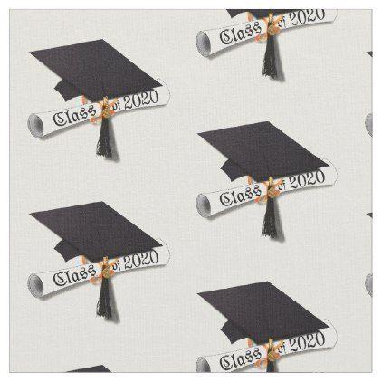 Class of 2020 Graduation Cap Fabric
