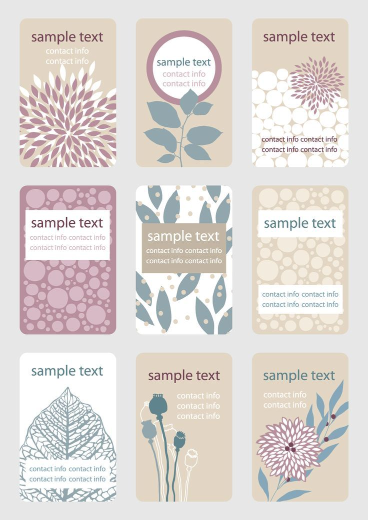 Free Vector Leaf Shading card available for download at 4vector.com