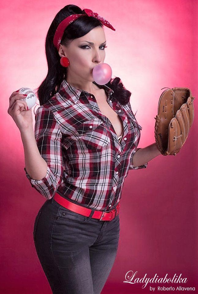Roberto Allavena  #ladydiabolika #pinup #styling #modeling #makeup #hairstyling