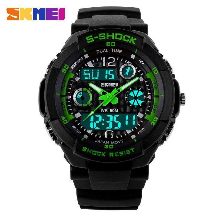 S SHOCK SKMEI DIGITAL MEN BOYS WATCH. SHOCK RESISTANT