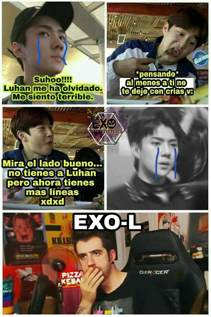 Memes De Exo Con Imagenes Memes Memes Divertidos Memes Kpop