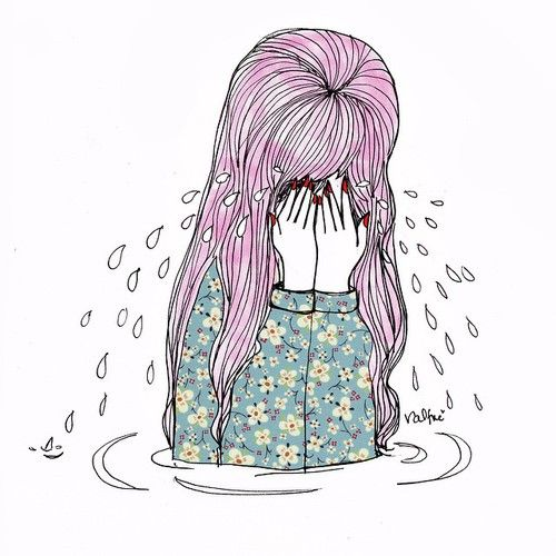 Sad Quotes About Depression: Best 25+ Crying Girl Ideas On Pinterest