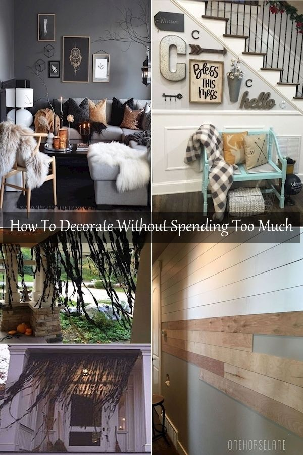 Home Decor Ideas Cheap Ways To Decorate Your Living Room Low Budget House Decoration Low Budget House Rustic Country Home Decor
