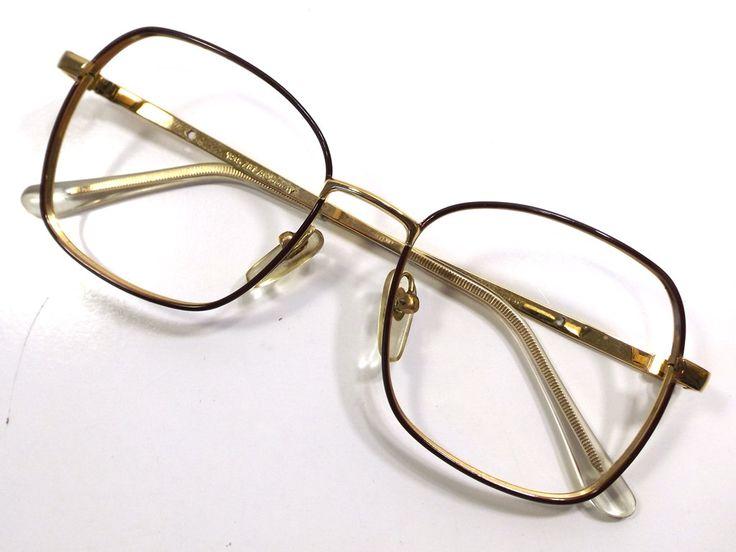 Vintage Maroon Cat Eye Glasses