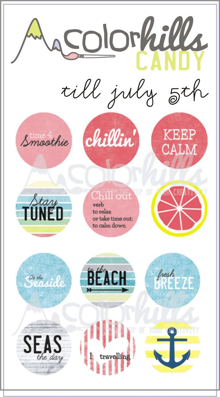 FREE project life scrapbooking printables