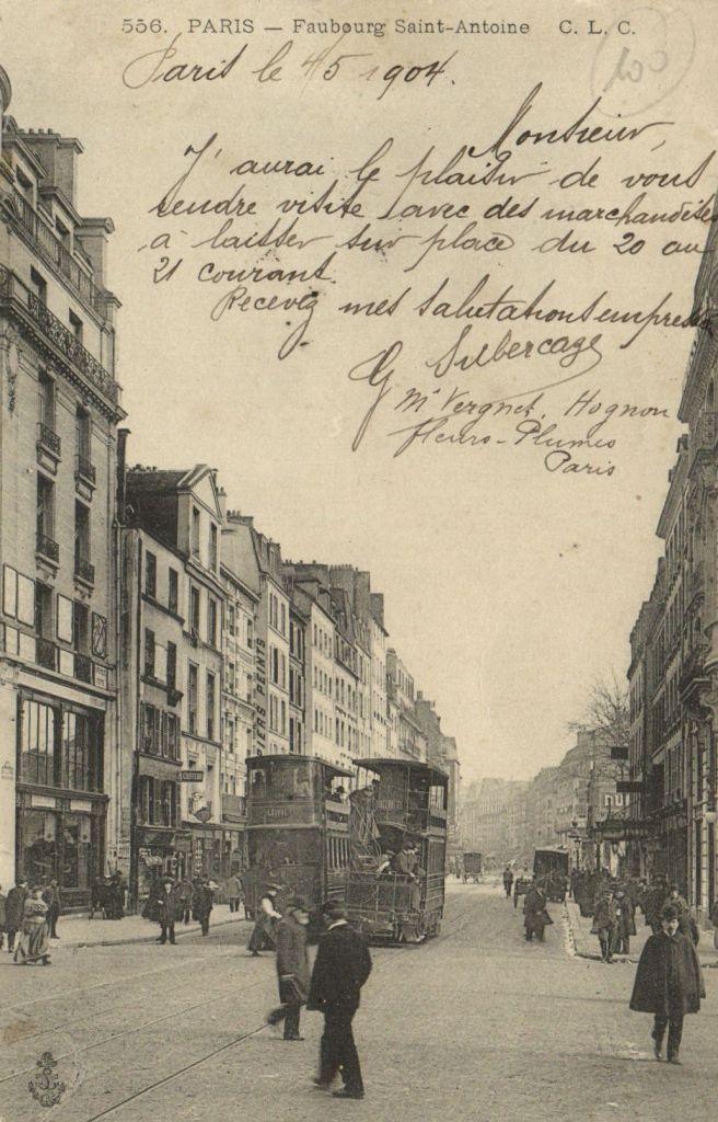 CPA Paris 11E DEP 75 Faubourg Saint Antoine 78905 | eBay