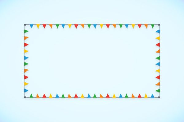 How to Create a Flag Bunting Pattern Brush in Adobe