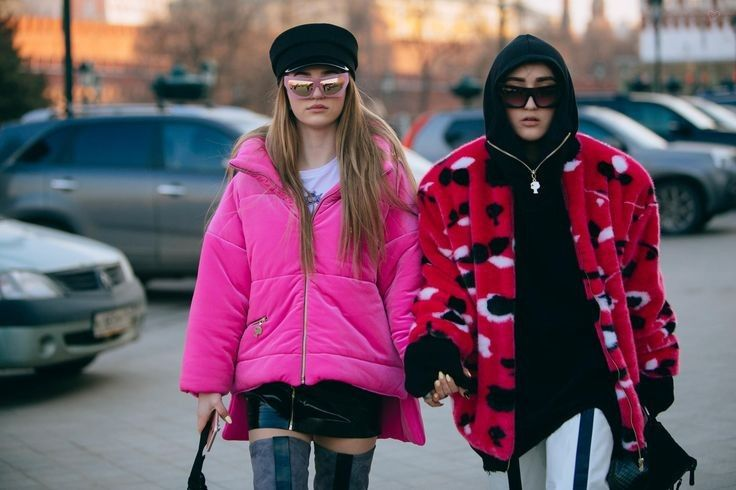 Showgoers brought their fashion A-Game to Mercedes-Benz Fashion Week Russia.... - Street Style