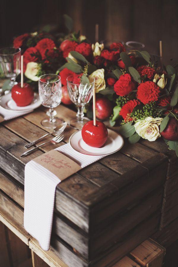 Fairy Treehouse Apple Wedding Ideas Place Setting http://paolacolleoni.com/
