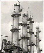 ICI Olefins Plant at Wilton, Redcar...I have worked there!