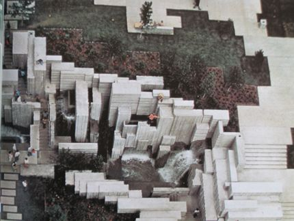 Freeway Park (1970-1974), Lawrence Halprin, Seattle, Washington
