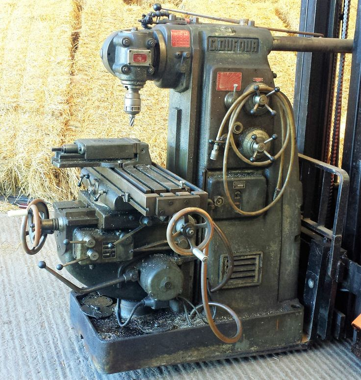 milling machine power feeds