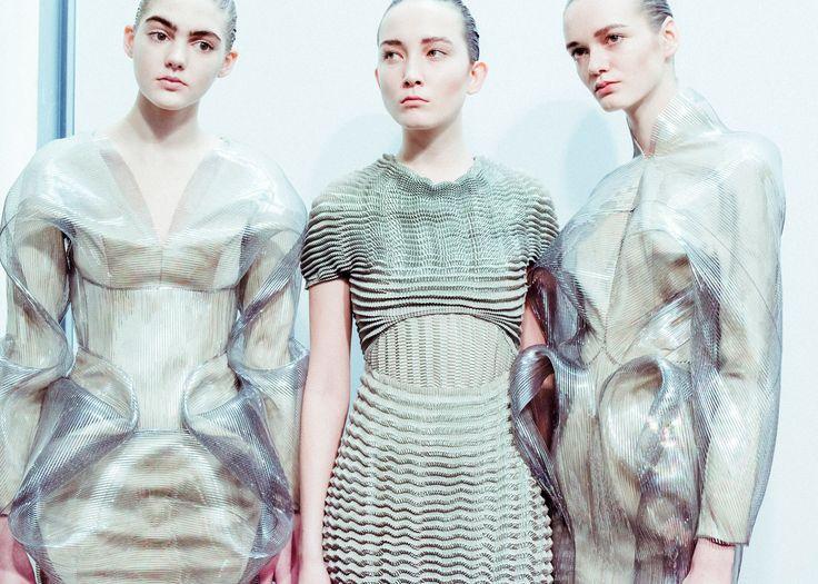 Iris van Herpen's bubble-like dresses for Autumn Winter 2016