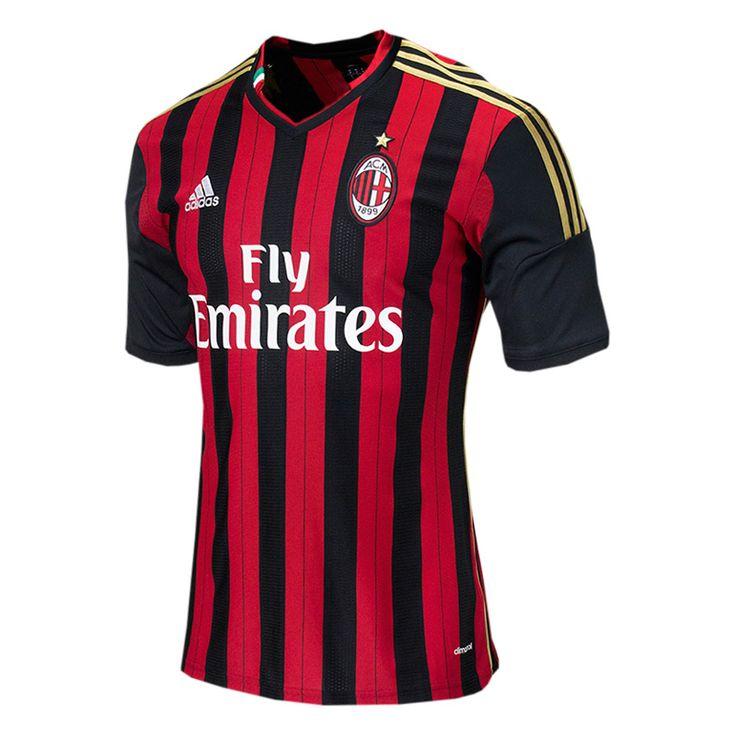 adidas AC Milan 2013/2014 Home Soccer Jersey